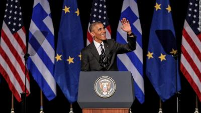 AFS Represented at Events Honoring U.S. President Barack Obama's First Visit to Greece