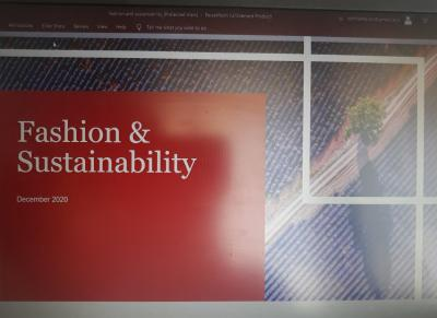 'Fast Fashion and Sustainability'