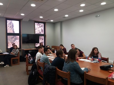 American Universities visit AFS under the Study U.S.A. Program