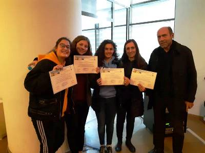AFS High School students continue their distinctions in competitions