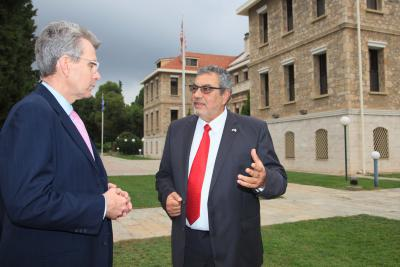 New U.S. Ambassador to Greece Geoffrey Pyatt Visits AFS