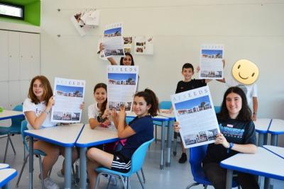 AFSeeds: a newspaper by the Haseotes Middle School students